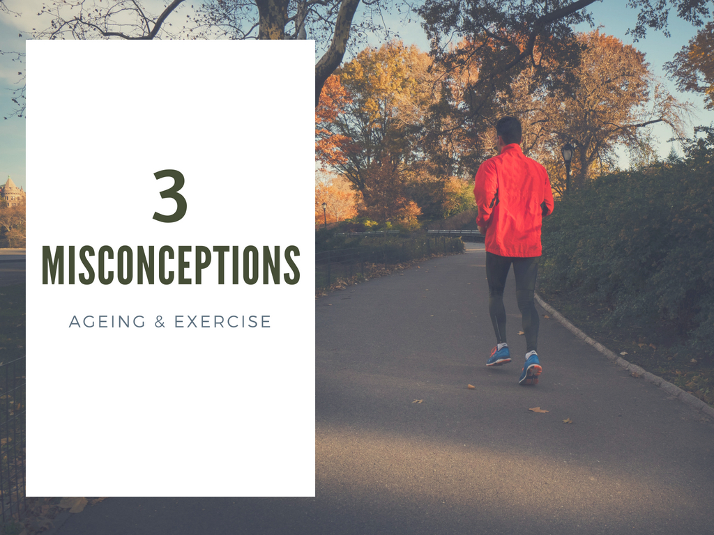 3 Misconceptions - Ageing & Exercise