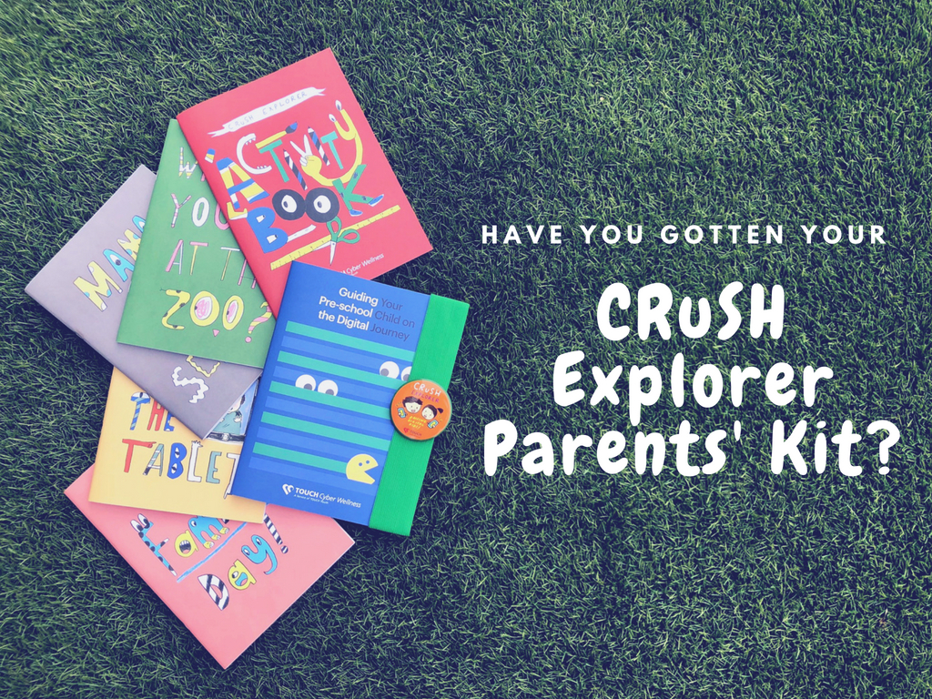 CRuSH Explorer Parents' Kit                             (for parents of children aged 4-6)