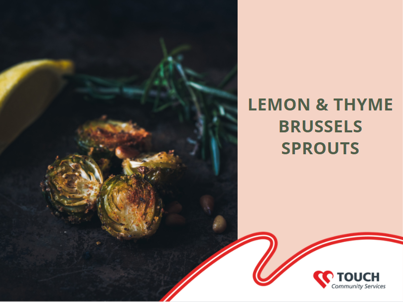 Lemon & Thyme Brussels Sprouts