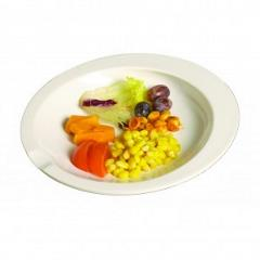 Dining aid plate