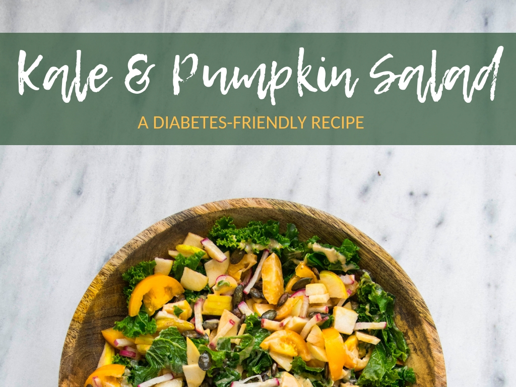 Pumpkin Kale Salad - A diabetes-friendly recipe by TOUCH Diabetes Support