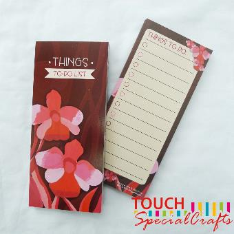 To-Do List Notepad (Orchid)