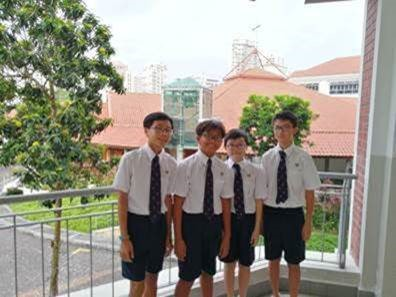 ACS Barker Road boys help elderly in distress