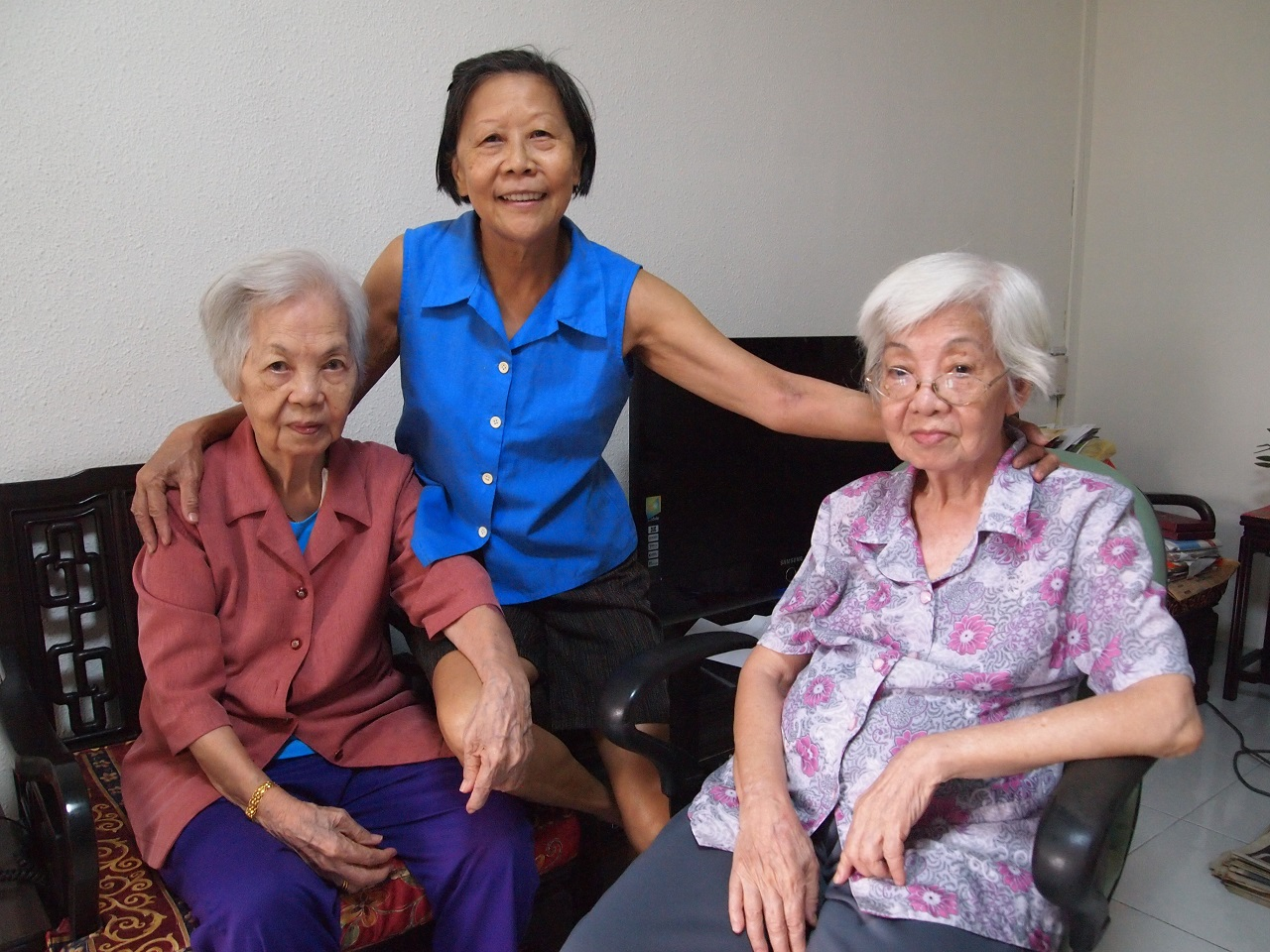 Befriendee-turned-befriender helps fellow residents